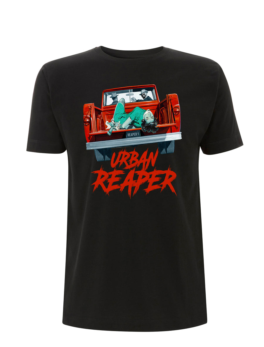 Kidnap Graphic tee - Black - Urban Reaper Clothing