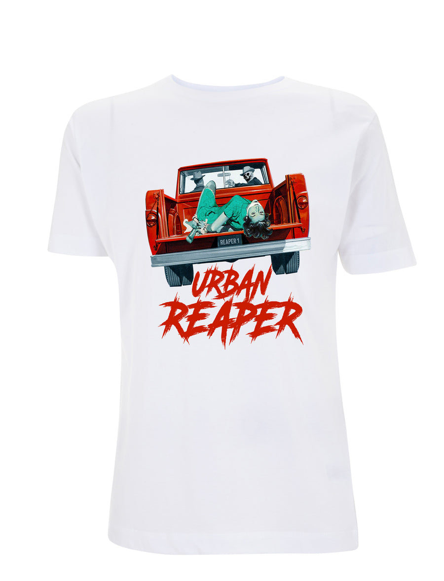 Kidnap Graphic Tee - White - Urban Reaper Clothing