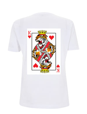 Tiger King Graphic Tee - White