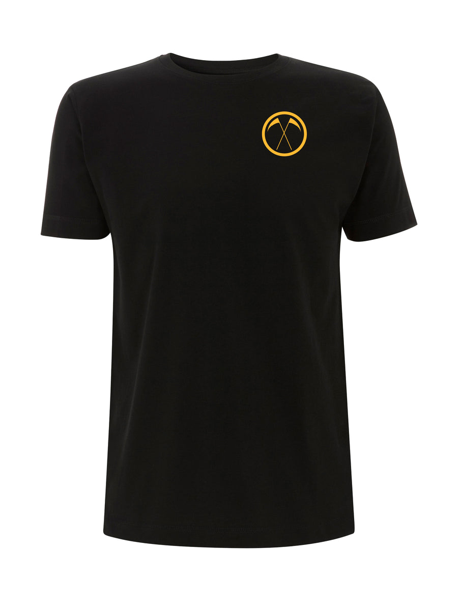 College Logo Black T-Shirt