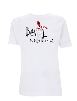 Devil In The Detail Graphic Tee - Urban Reaper Clothing