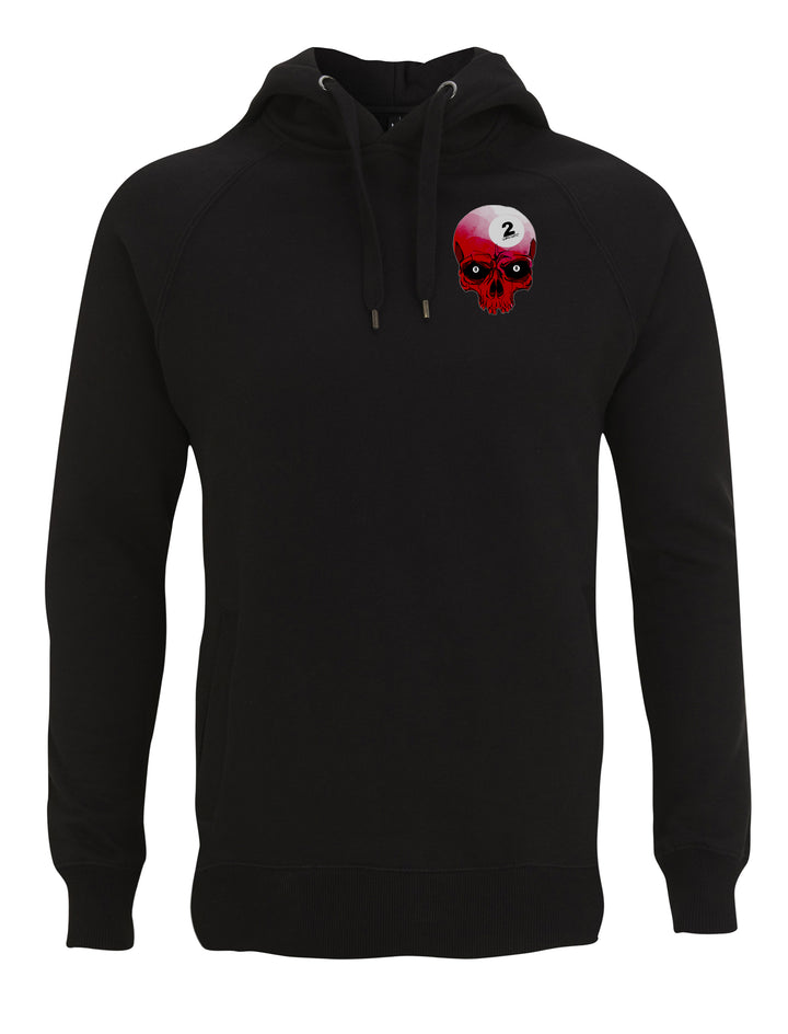 Red skull hoodie - urban reaper clothing