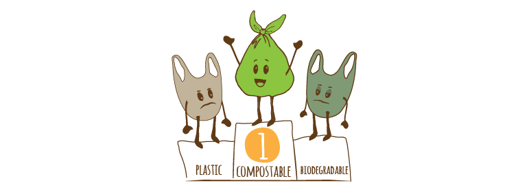 Compostabile vs Biodegredabile