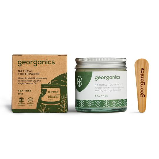 Dentifricio in pasta Georganics – Tea Tree