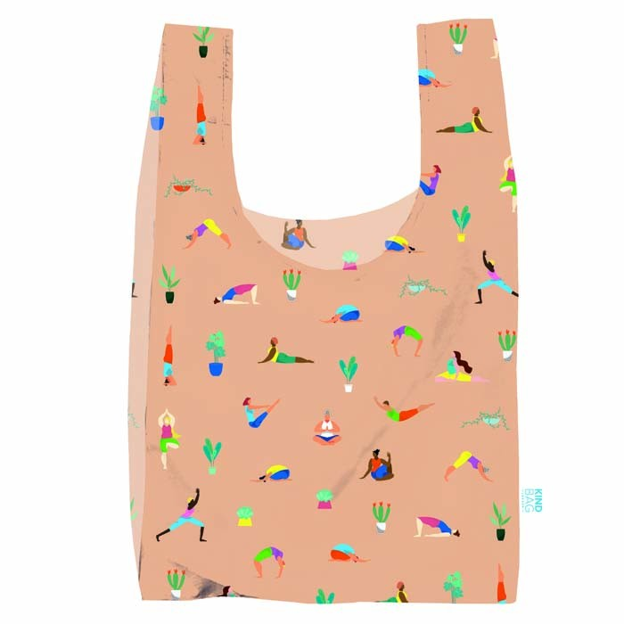 SHOPPING BAG IN PLASTICA RICICLATA