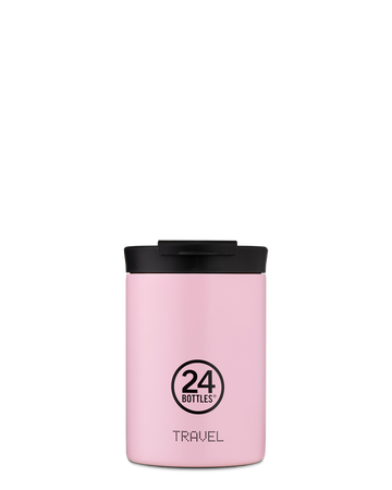 TRAVEL TUMBLER 24 BOTTLES - 350ML - Candy Pink
