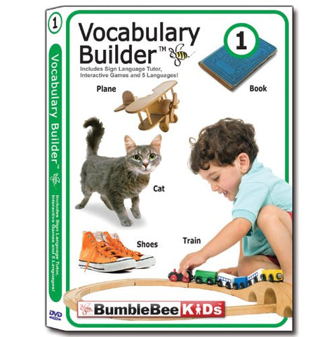 Bumblebee Kids Vocabulary Builder 1 By Baby Bumblebee Kids