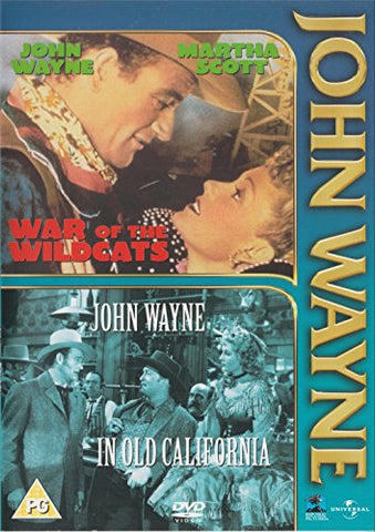 War Of The Wildcats/In Old California - John Wayne [Import Anglais]