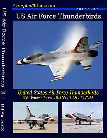 Usaf Thunderbirds Dvd By Thunderbird