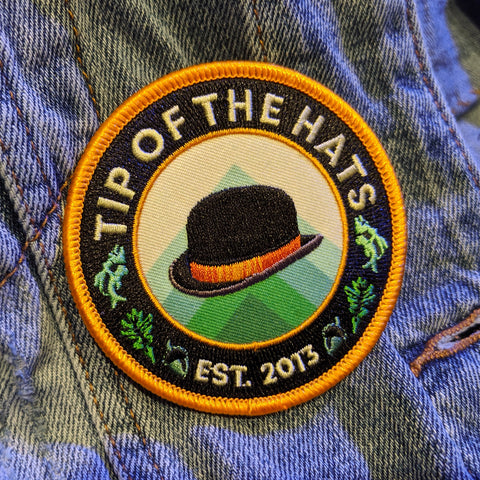 Tip of the Hats Iron-On Patch