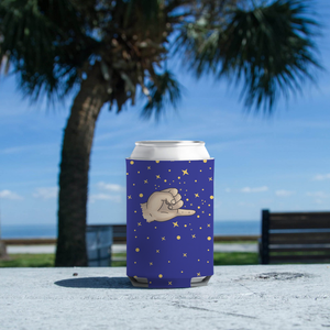 "Koozie with ""Pinky_Promise"" sticker"