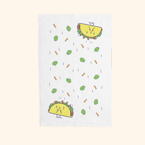 Hand Towel (Cute Taco)
