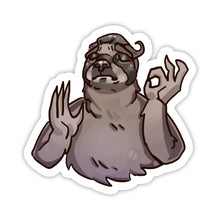 "Load image into Gallery viewer, ""Alright"" Animal Sticker"
