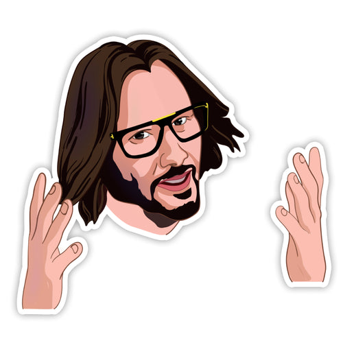 Keanu Reeves Sticker