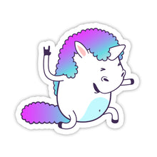 "Load image into Gallery viewer, ""Rock"" Unicorn Sticker"