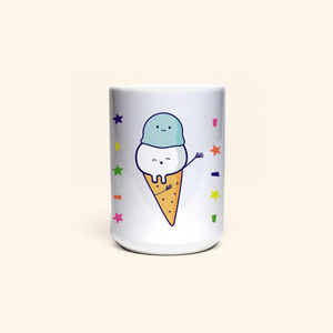 Mug (Cute Ice-cream)