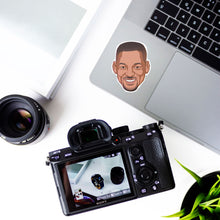 Load image into Gallery viewer, Leonardo Dicaprio & Will Smith Stickers