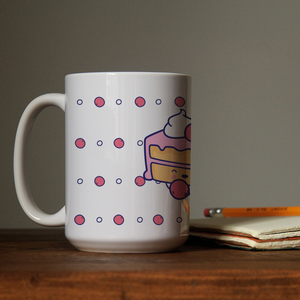 Mug (Cute Pie with Cherry)