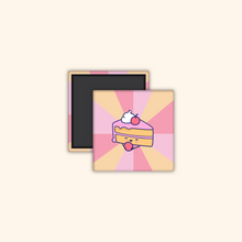 Load image into Gallery viewer, Metal Magnet (Cute Food stickers)