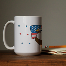 "Load image into Gallery viewer, Mug with ""Eagle"" sticker"