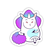 "Load image into Gallery viewer, ""Hangloose"" Unicorn Sticker"