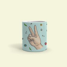 "Load image into Gallery viewer, Mug with ""Cool"" sticker"