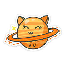 "Load image into Gallery viewer, ""Happy"" Cat Sticker"