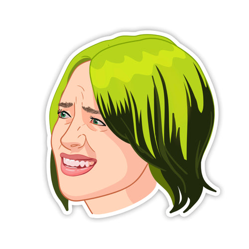 Billie Eillish Sticker