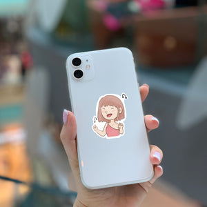 Dancing Girl Sticker