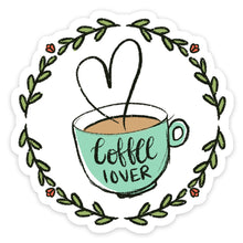 Load image into Gallery viewer, Coffee Lover Sticker