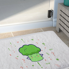 Load image into Gallery viewer, Bath Mat (Cute Broccoli)