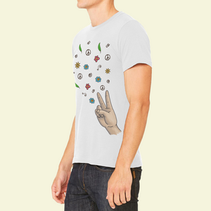 T-Shirt Unisex with cool sticker