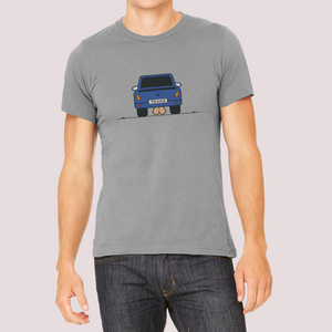 "T-Shirt with ""Car"" sticker"