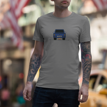 "Load image into Gallery viewer, T-Shirt with ""Car"" sticker"