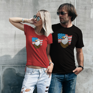 "T-Shirt Unisex with ""Eagle"" sticker"