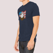 "Load image into Gallery viewer, T-Shirt Unisex with ""Eagle"" sticker"