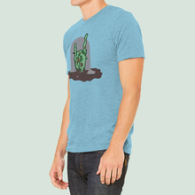 "Load image into Gallery viewer, T-Shirt with ""Rock-on"" sticker"