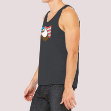 "Load image into Gallery viewer, Tank Top Unisex with ""Eagle"" sticker"