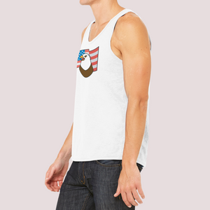"Tank Top Unisex with ""Eagle"" sticker"