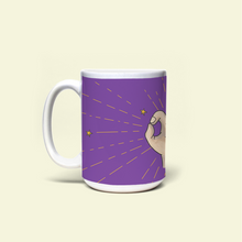 "Load image into Gallery viewer, Mug with ""Okay"" sticker"