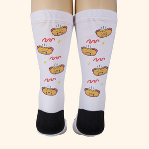Socks Unisex (Cute Hotdog)