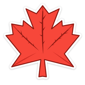 Mapleleaf Sticker