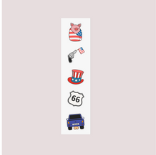 Load image into Gallery viewer, American Kiss Cut Stickers