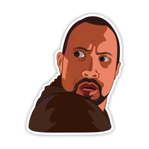 Dwayne Johnson Sticker