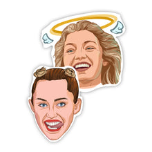 Load image into Gallery viewer, Miley Cyrus & Gigi Hadid Stickers