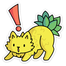Load image into Gallery viewer, Pineapple Cat Sticker