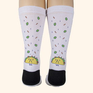 Socks Unisex (Cute Taco)
