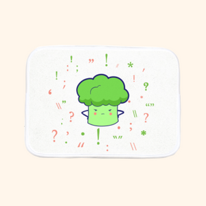 Bath Mat (Cute Broccoli)