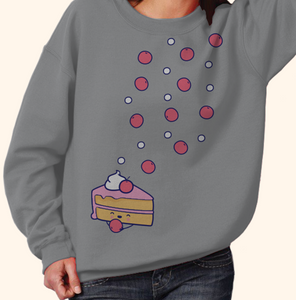 Sweatshirt (Cute Pie with Cherry)
