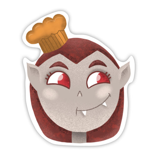 Vampire Chef Sticker